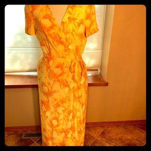 ESCADA silk summer dress